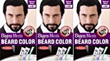 Bigen Men's Beard Colour B101 Natural Black X 3 Packs
