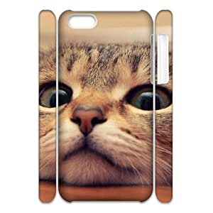 Lovely cat CUSTOM 3D Phone Case for iPhone 4/4s LMc-32736 at LaiMc