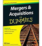 img - for Mergers & Acquisitions For Dummies (For Dummies (Lifestyles Paperback)) (Paperback) - Common book / textbook / text book