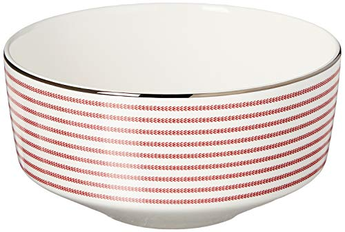 KATE SPADE Red Laurel Street 4-Piece Place Setting, 5.75 LB