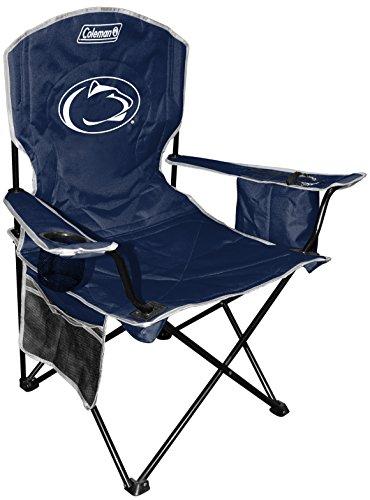 NCAA Penn State Nittany Lions Unisex NCAA Cooler Quad Chairncaa Cooler Quad Chair (All Team Options), Blue, X-Large