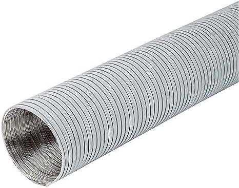 Tuyau flexible en aluminium blanc /Ø 100 mm Longueur 3 m
