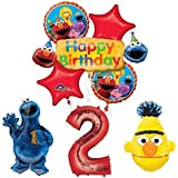 The Ultimate Sesame Street And Friends 2nd Birthday Supplies Decorations Balloon Kit