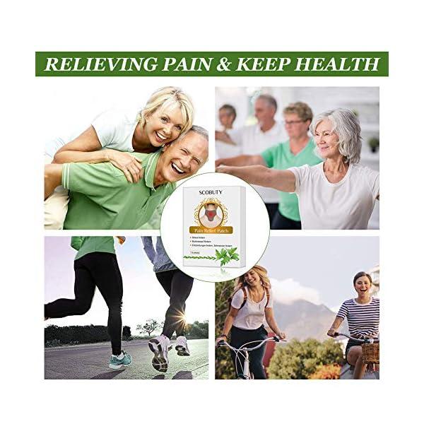 Cerotto Termico,Cerotto Cervicale,Cerotti anti dolore,Patch Antidolorifico per schiena, spalle, collo, addome 6 spesavip