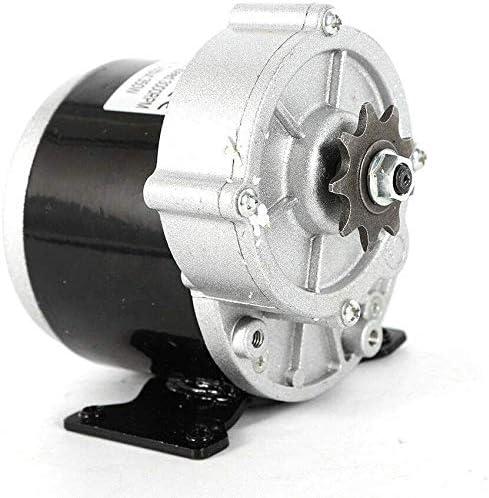 MY1016Z3 DC Gear Motor 24V 350 Watt Brushed Motor with 9 Teeth Sprocket for Bike