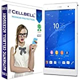 bagtag Cellbell Tempered Glass Screen Protector for Sony Xperia Z3 (2.5D Curved Edges)(Clear) Complimentary Prep cloth