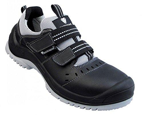 Maxguard E120 Sandale schwarz-grau S1P