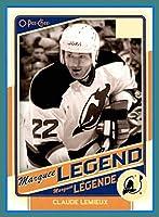 2012-13 OPC O-Pee-Chee #527 Claude Lemieux Legend New Jersey Devils