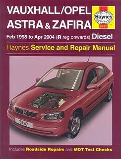 Vauxhall astra petrol oct 91 feb 98 haynes repair manual vauxhallopel astra and zafira diesel service and repair manual 1998 to 2004 ccuart Choice Image