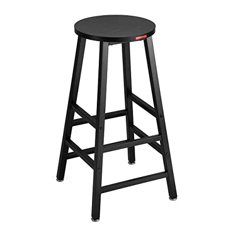 Amazing Mr Ironstone Pub Height Bar Stool Black 27 7 Pub Dining Height Stools Bistro Table Chairs Indoor Use Only Caraccident5 Cool Chair Designs And Ideas Caraccident5Info