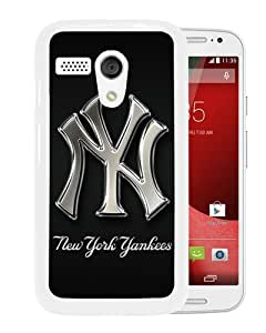 Newest And Fashionable Motorola Moto G Case Designed With New York Yankees 1 White Motorola Moto G Screen Cover High Quality Cover Case