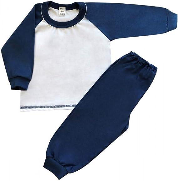 Pijama bordado personalizado para niños, 100% algodón ...