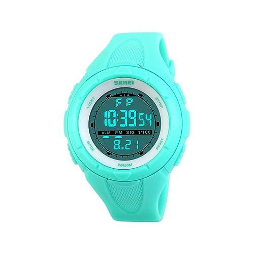 ILOVE EU Reloj de pulsera para mujer o chica, resistente al agua hasta 50 m