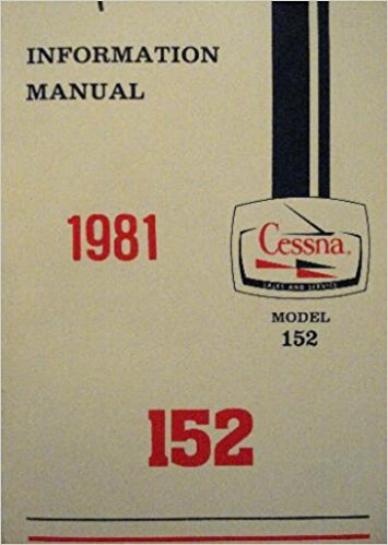 Information Manual Cessna Aircraft Company 1981 Model 152