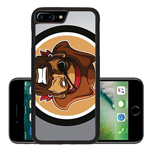 Images Pirates Caribbean Costumes (Luxlady Premium Apple iPhone 7 Plus Aluminum Backplate Bumper Snap Case iPhone7 Plus IMAGE ID: 40843934 Pirates Circle sticker)