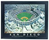 San Diego Padres Qualcom Stadium Framed Aerial Photo F7526A