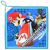 マリオ ループタオル 任天堂 スーパーマリオ 約34×36cm 名前ネーム付 ループ付き タオル ハンドタオル