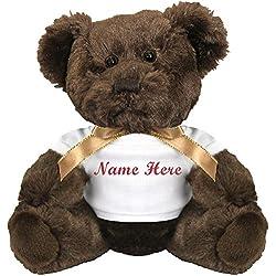 Personalized Bear Gift: Small Plush Teddy Bear