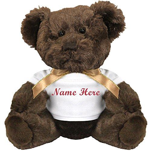Personalized Bear Gift: 7 Inch Teddy Bear Stuffed Animal