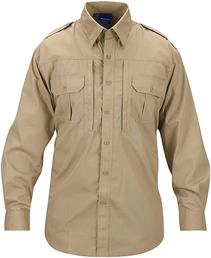 Propper Men's Long Sleeve Tactical Shirt: Clothing