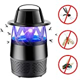 iphonepassteCK Fly Killer Electronic Insect Killer Mosquitoes Killer Lamp Bug Zapper Mosquito Zapper Insect Trap for Home Patio Lawn Indoor Outdoor Garden, Black1