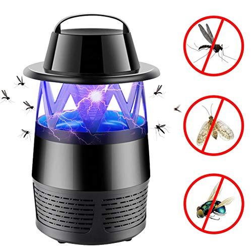iphonepassteCK Fly Killer Electronic Insect Killer Mosquitoes Killer Lamp Bug Zapper Mosquito Zapper Insect Trap Home Patio Lawn Indoor Outdoor Garden, Black by iphonepassteCK