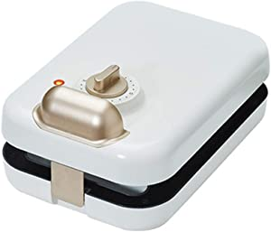 3 in 1 Sandwich Maker Electric Breakfast,Panini Press Grill,Waffles Maker,Double-Side Heating Toaster,with Detachable Non-Stick Plates,White