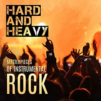 hard and heavy masterpieces of instrumental rock deep sounds of electric guitar by gold. Black Bedroom Furniture Sets. Home Design Ideas
