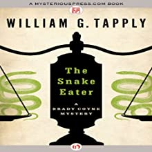The Snake Eater Audiobook by William G. Tapply Narrated by Stephen Hoye