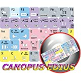NEW CANOPUS EDIUS KEYBOARD STICKERS FOR DESKTOP, LAPTOP AND NOTEBOOK