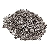 Silver Round Dome Upholstery Sofa 9 x 9mm Nails Stud Tack Pack of 200
