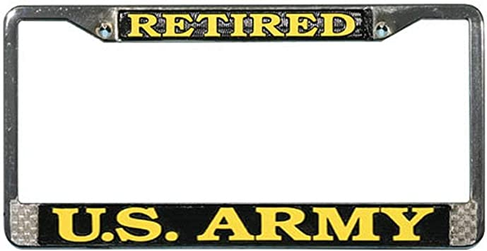 BEEN THERE DONE THAT CAN/'T REMEMBER MILITARY License Plate Frame Tag Holder