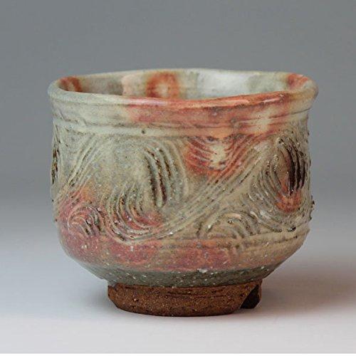 Hagi yaki single cup made in Japan with wood box. Japanese pottery shuto24260