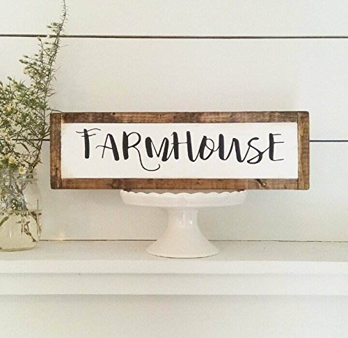 Amazon Com Farmhouse White Wash Kitchen Decor Barn Home