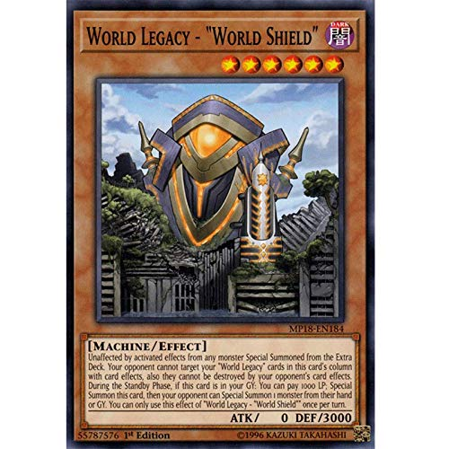 (World Legacy - World Shield - MP18-EN184 - Common - 1st Edition)