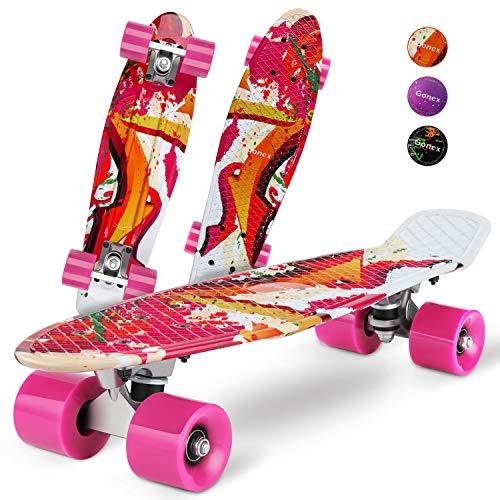 Gonex Mini Cruiser Skateboard for Boy Girl Beginner Kids