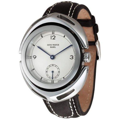 Zeno Watch Basel Hombre XL Maximus – Reloj de pulsera analógico cuerda manual piel 3783 –