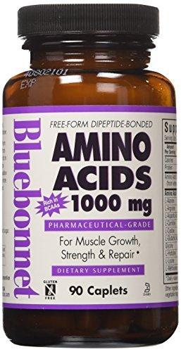 (Amino Acids, 1000 mg, 90 Caplets by Bluebonnet Nutrition )