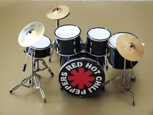 Chad Drum Smith - RGM342 Chad Smith Red Hot Chili Peppers Miniature Drumkit