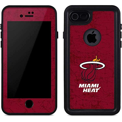 (Miami Heat iPhone 8 Case - Miami Heat Red Primary Logo   NBA X Skinit Waterproof Case)