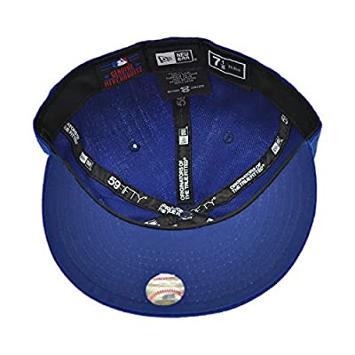 New Era Chicago Sox 59Fifty Men's Fitted Hat Cap Royal Blue/White 10023366