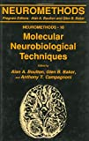 Molecular Neurobiological Techniques, , 0896031403