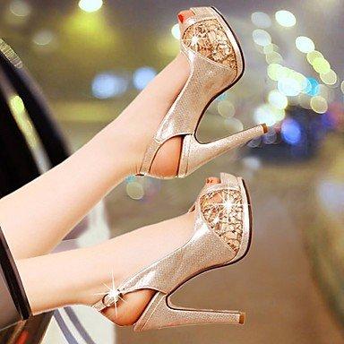 pwne Tacones mujer Primavera Club PU zapatos casual Almendra Almendra US8 / UE39 / UK6 / CN39 US6 / EU36 / UK4 / CN36