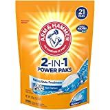 Arm & Hammer 2-in-1 Laundry Detergent Power Paks, 21 ct
