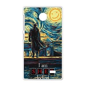 Starry Fall (Sherlock) Cell Phone Case for Nokia Lumia X