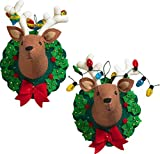 Bucilla 86744 Jingle & Belle Wallhanging Kit