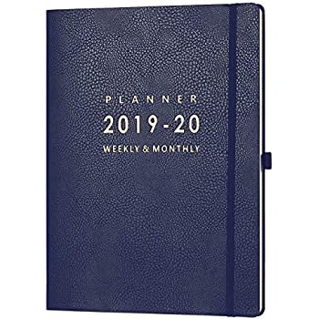 Amazon.com : 2020 Large Monthly Planner by Gallery Leather ...
