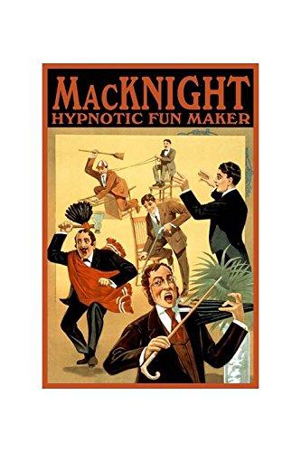 (Buyenlarge Macknight, Hypnotic Fun Maker Print (Canvas 24x36))