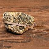 1Pcs Tea Ceremony Accessory Bamboo Teaspoon Matcha Tea Powder Scoop-BRN Wood