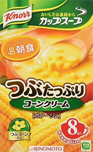 Knorr Cup Soup (Corn grain cream) 3 packs